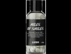 [LUSH] 러쉬 마일스 오브 스마일 투시탭 고체치약 50g